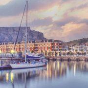 View of Cape Grace from the harbour, Cape Town - Explorer Safari